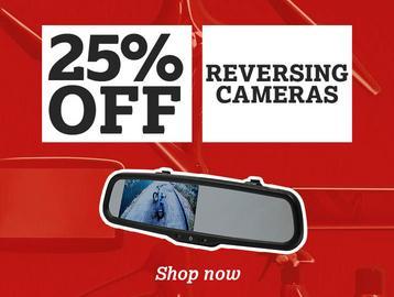 25% off all Reversing Cameras